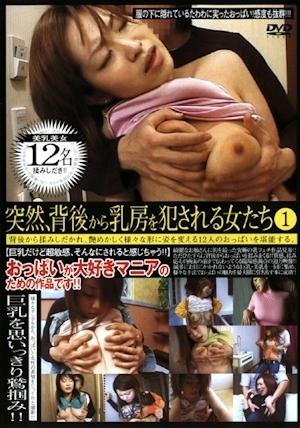 突然、背後から乳房を犯される女たち 1