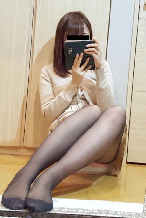 スレンダーな日本の極上美少女の自分撮りヌード画像 1