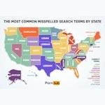 Pornhubがスペルミスしたポルノ検索ワードの州別傾向を調査