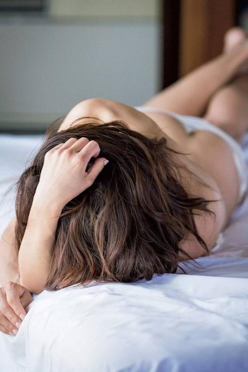 元ミスマガジンの現役女性社長 中川愛海 セクシーセミヌードグラビア画像 3
