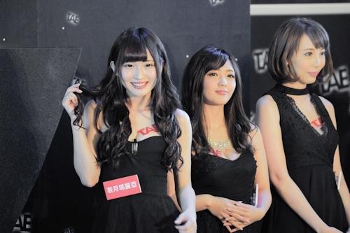 台湾アダルトエキスポに日本の人気AV女優が多数参加で台湾男性が大興奮 3