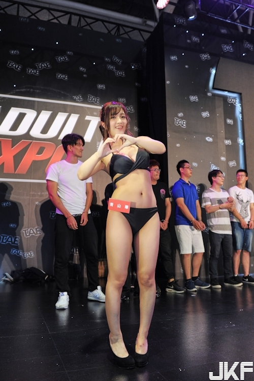 台湾アダルトエキスポで行われた日本のAV女優と触れ合えるイベントの画像 11