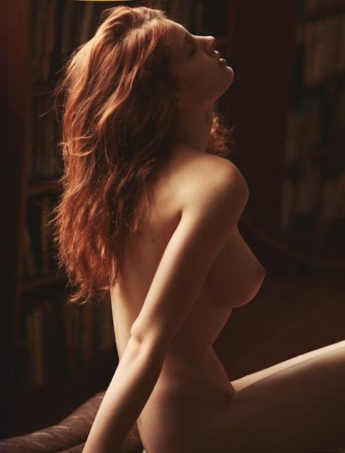 ベルギーモデル Fanny Francois(ファニー・フランソワ) セクシーヌード画像 1