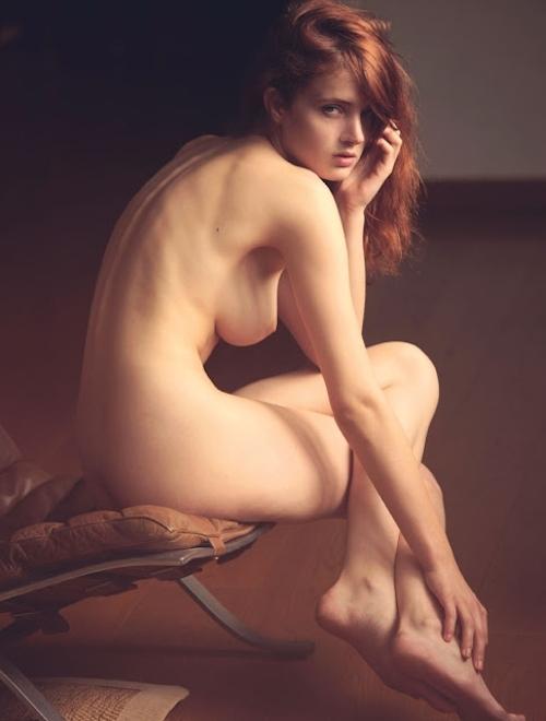 ベルギーモデル Fanny Francois(ファニー・フランソワ) セクシーヌード画像 2