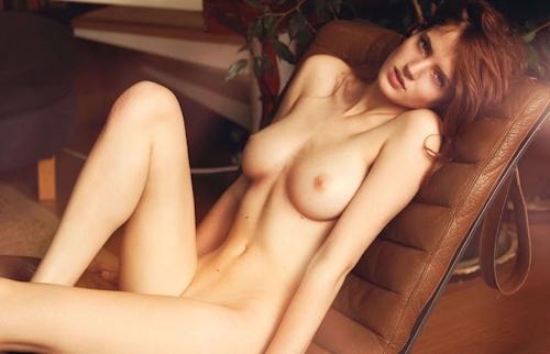 ベルギーモデル Fanny Francois(ファニー・フランソワ) セクシーヌード画像 3