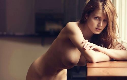 ベルギーモデル Fanny Francois(ファニー・フランソワ) セクシーヌード画像 4