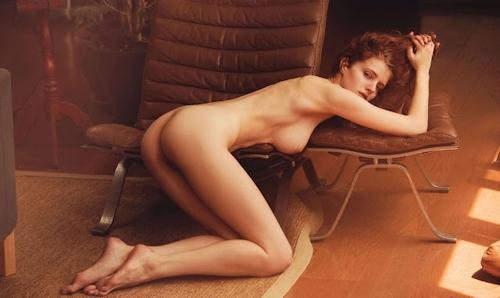 ベルギーモデル Fanny Francois(ファニー・フランソワ) セクシーヌード画像 5