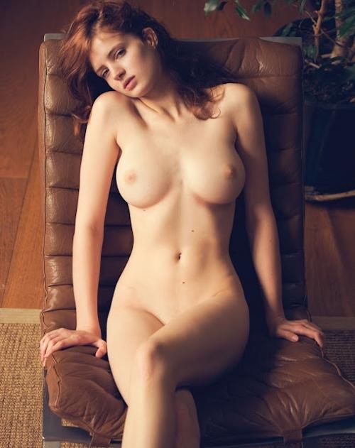 ベルギーモデル Fanny Francois(ファニー・フランソワ) セクシーヌード画像 6