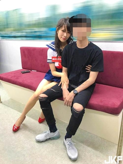 台湾アダルトエキスポ2017で日本のAV女優による逆痴 漢イベントの画像 14