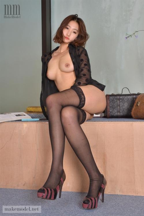 韓国美女モデル セクシーヌード画像 6
