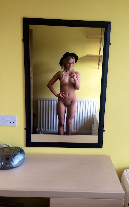 イギリス女優 Kirsty-Leigh Porter(カースティ・リー・ポーター)の自分撮りヌード画像が流出 7