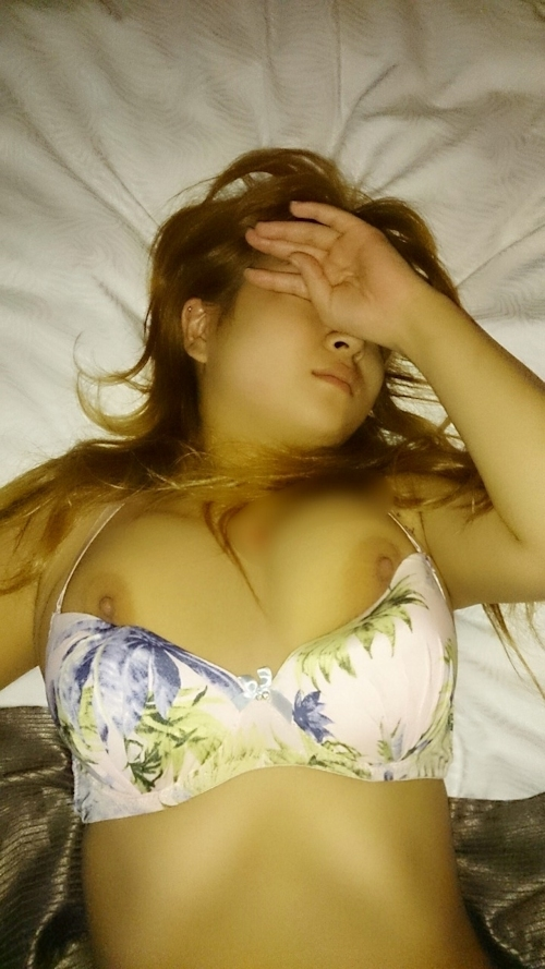 日本の巨乳なギャル系美女のハメ撮り画像 5