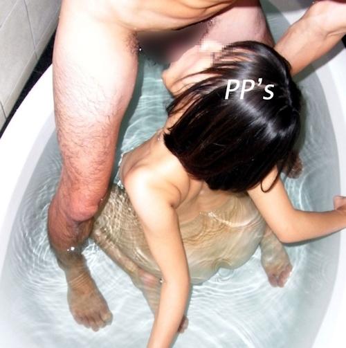 韓国素人美女のセックス画像 5