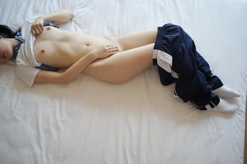 美微乳&パイパン少女の緊縛ヌード画像 5