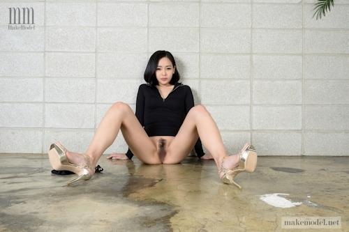 韓国美女モデルのヘアヌード画像 8