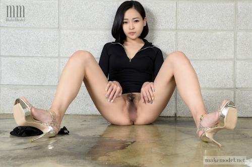 韓国美女モデルのヘアヌード画像 9