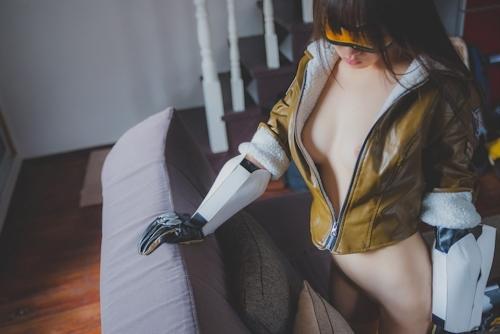 パイパン中国美女のコスプレヌード画像 8