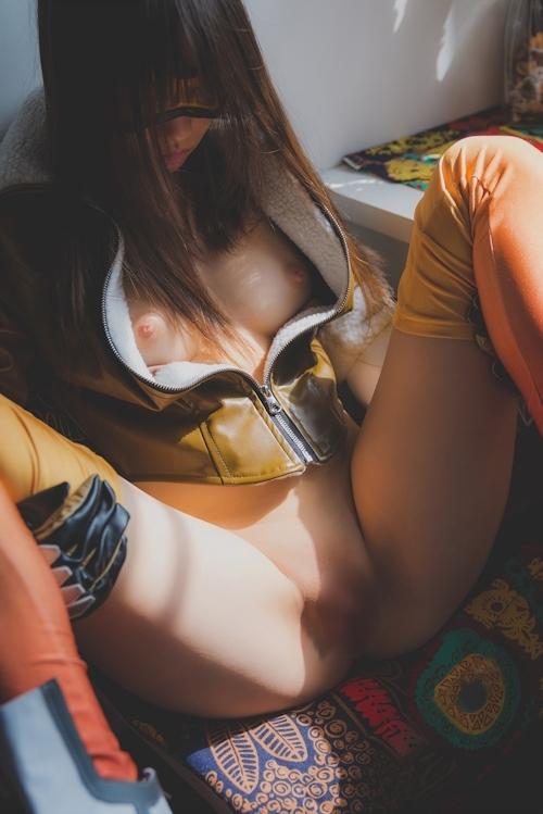 パイパン中国美女のコスプレヌード画像 14