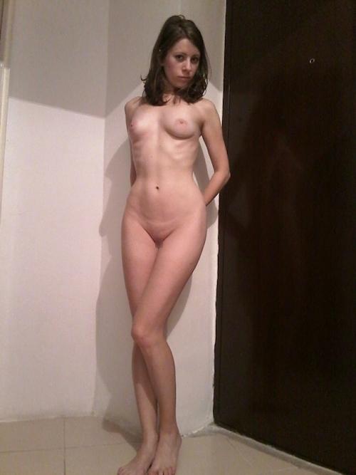 西洋素人美女の自分撮りヌード流出画像 5