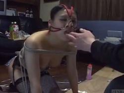 アナルプレイとひもにつないで副題混合日本人BDSM - 動画 - 無修正アダルト動画共有 エロビデオネット(3)