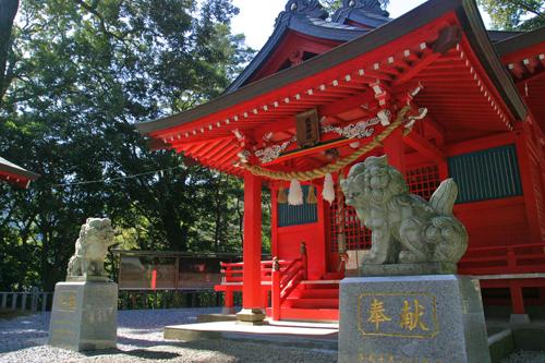 厳島神社 ななめ