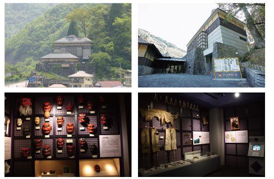 民族博物館 コラージュ