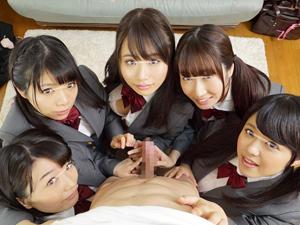 童貞の学生とお嬢様グループが初めての王様ゲームをした結果w
