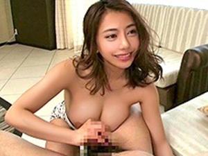 松本メイ「ぜ〜んぶ出して!」優しい淫語で連射へ導く痴女