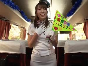 巨乳痴女AV女優の童貞バスツアー!