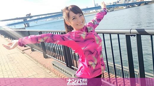 ジョギングナンパ 04 in お台場 まお 22歳 アナウンススクール専門学生