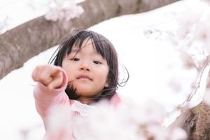 花見と子供ri