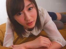 【美竹すず】アイドル顔にに使わぬHカップ美巨乳!ピュア過ぎる美少女の初イキSEX♪||