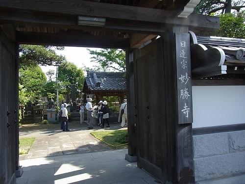 お寺の入口106kb