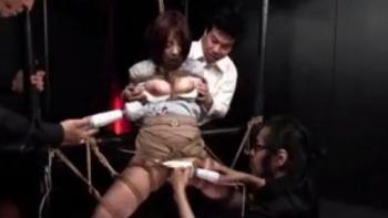 達磨アクメ DEVIL STORY 生け贄の絶頂肉人形 Part-1 哀愁の清純女教師、祐未の場合 かなで自由 - 無料エロ動画 - DMMアダルト(4)