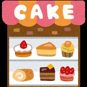 ケーキ屋の建物