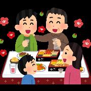 家族の新年会