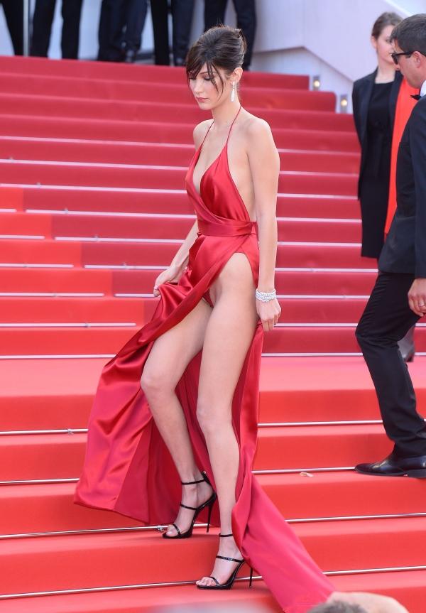 Bella Hadid - La Fille Inconnue premiere in Cannes