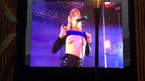 Tove Lo in Upskirt & See Through & Topless