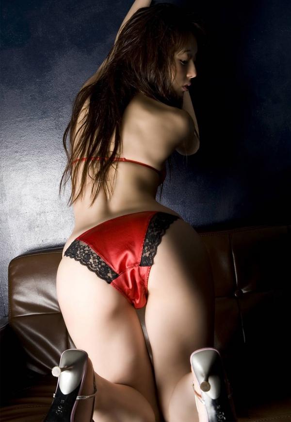 赤い下着のエロ画像-48