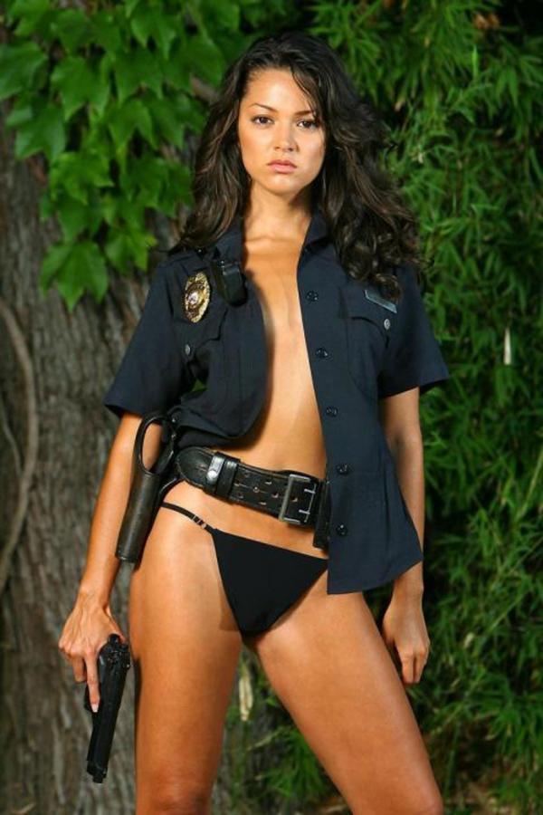 外人婦警のエロ画像-23