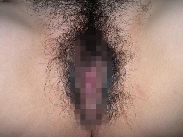 超剛毛マンコ画像-17