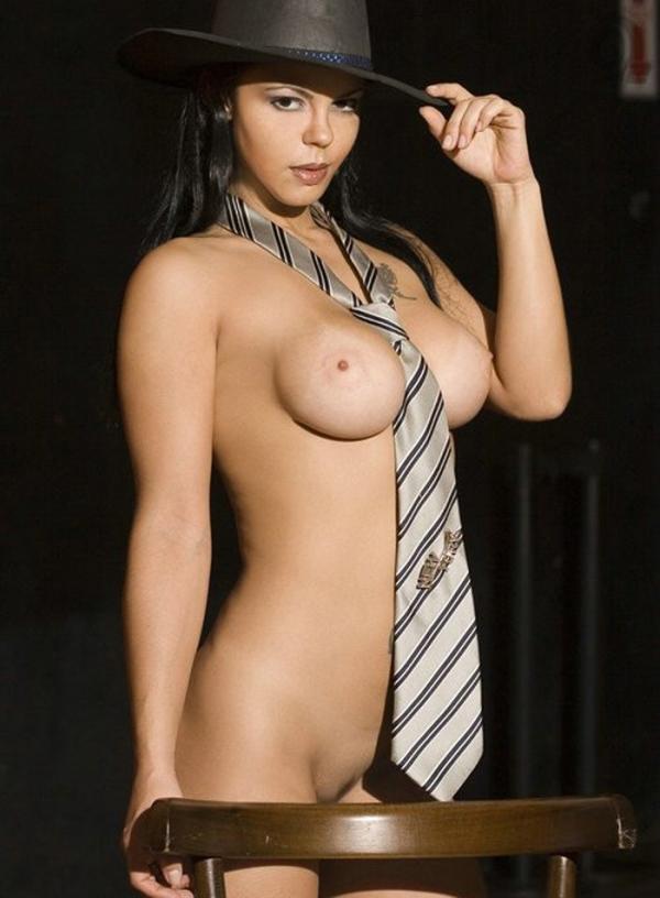 裸ネクタイの画像-26