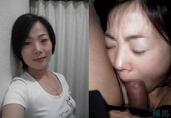 人妻のフェラチオ画像-60