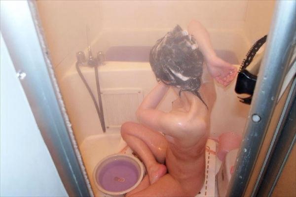 人妻の入浴画像-41