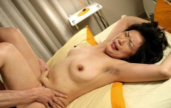 熟女のハメ撮りセックス画像-4