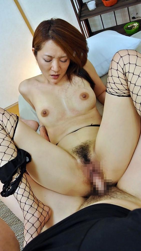 熟女のハメ撮りセックス画像-46