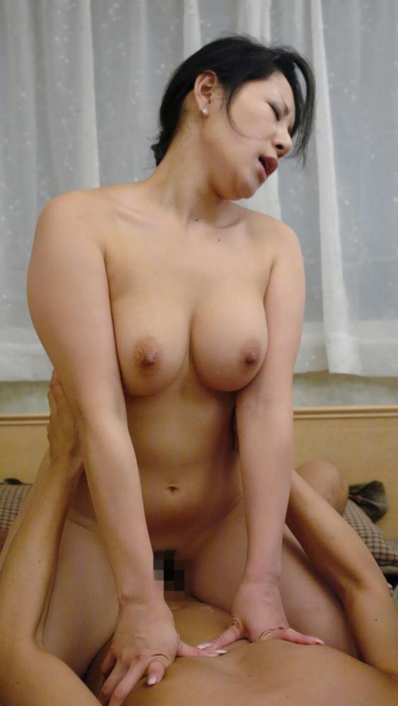 熟女のハメ撮りセックス画像-49