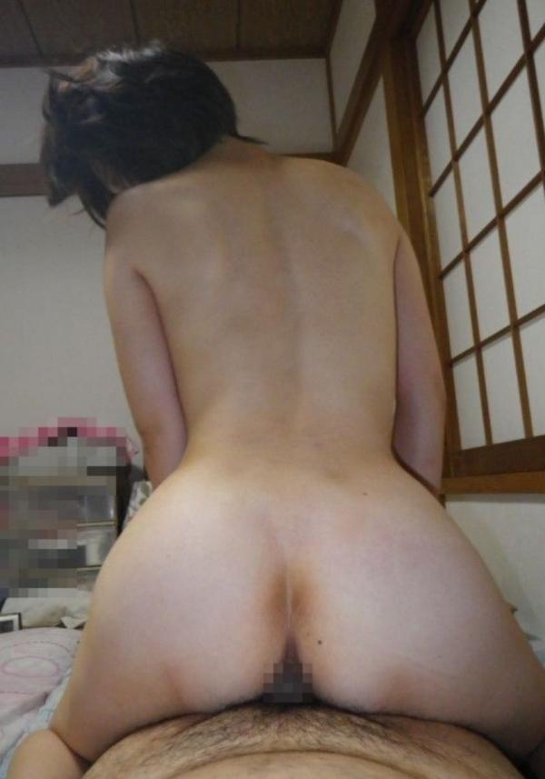 熟女のハメ撮りセックス画像-54