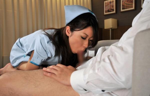 看護婦のフェラチオ画像-30