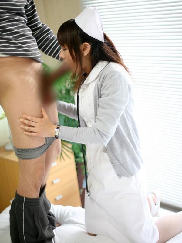 看護婦のフェラチオ画像-54